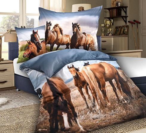 Obrazová posteľná súprava s motívom KONE